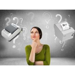 Чековый принтер или фискальный регистратор ?