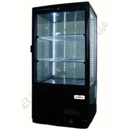 Шкаф холодильный FROSTY RT58L-1D, black