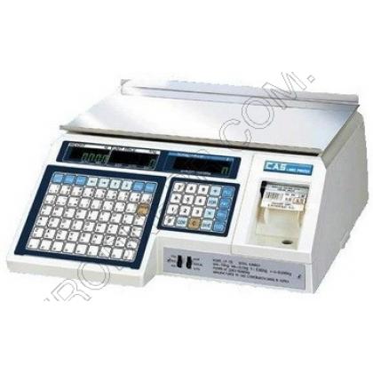 Весы с чекопечатью CAS CL5000J B