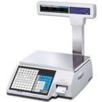 Весы с чекопечатью CAS CL5000J P/R