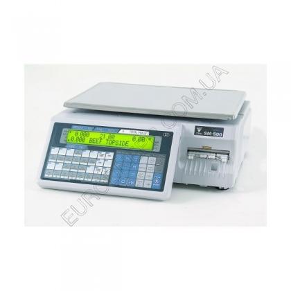 Весы с чекопечатью DIGI SM-500