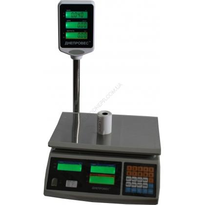 Весы торговые ВТД F902H ЕЛ1 (СЛ1) / ЕД